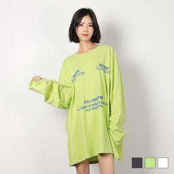 2458 콜라보레이션 박스 티셔츠 (3colors)