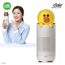 [전용필터증정] S 클레어 라인프렌즈 샐리 휴대용 차량용 공기청정기