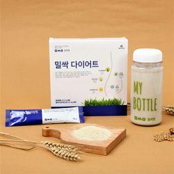 밀싹엔 밀싹 다이어트 10포