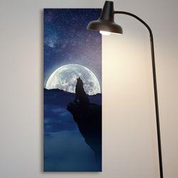 cv368-달빛아래늑대의울음대형노프레임