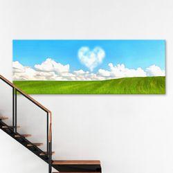 cv389-사랑의하트구름대형노프레임