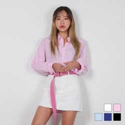 2459 오버 옥스포드 셔츠 (5colors)