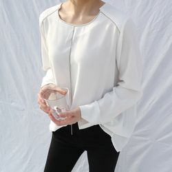 Jewelry point blouse