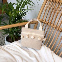 폼폼백 Pompom bag (OATMEAL)