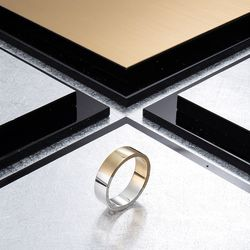 [ARETE] Twotone Polishing Ring