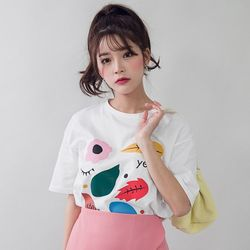 [로코식스] 스텔라 티셔츠