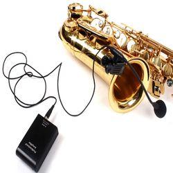 유선핀마이크 색소폰 핀마이크 트럼펫 트럼본 무배
