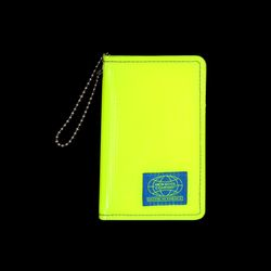 GRID CARD WALLET NKC NEON YELLOW