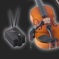 바이올린 무선마이크 핀마이크 음향장비