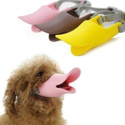 PET 오리 입마개 XL형 짖음방지 오리주둥이 마스크