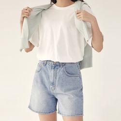 pit denim short pants (s m l)