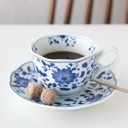 블루밍 커피잔 세트 JAPAN