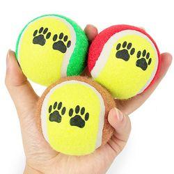 강아지 테니스볼  강아지공 강아지장난감 고무공