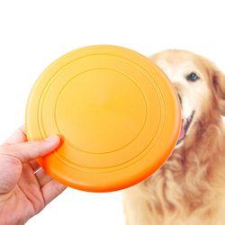 애견 컬러 플라잉 디스크 원반 강아지 장난감