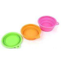 3단 매직 애견식기 산책용 급식기 외출용 급수그릇