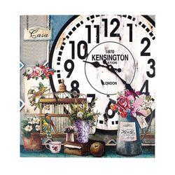 유럽풍 벽시계 스퀘어 D 벽걸이시계