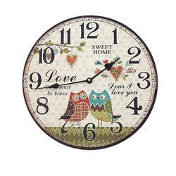 유럽풍 벽시계 라운드 B 벽걸이시계