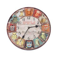 유럽풍 벽시계 라운드 A 벽걸이시계