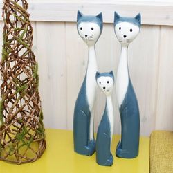 고양이세트 C형 인테리어소품 미니어처 장식소품