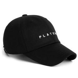19 UNDER LOGO W CAP BLACK