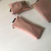 빈티지 핑크 필통(Vintage pink pencil case)