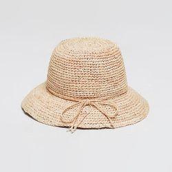 Raffia Bucket Hat