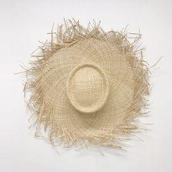 Raffia Natural Sun Hat