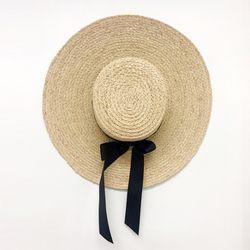 Raffia Bow Sun Hat