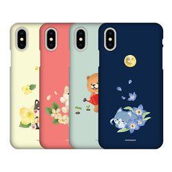 시로앤마로 수채화 슬림핏 하드케이스 아이폰 시리즈