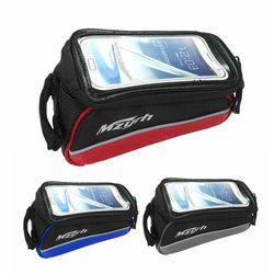 스마트폰 자전거 가방 안장프레임 프레임백 안장가방