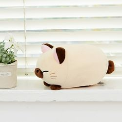모찌모찌 만두 고양이 인형 샴 25CM