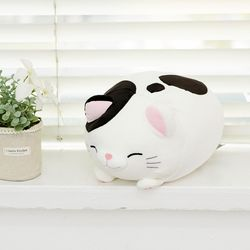 모찌모찌 만두 고양이 인형 젖소 25CM