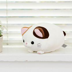 모찌모찌 만두 고양이 인형 삼색이 25CM