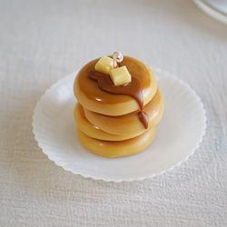 캐러멜 시럽 버터팬케이크 캔들