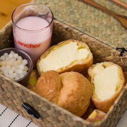 일본직수입 크림퍼프 크림 슈 2종
