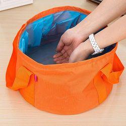 캠핑용 접이식 다용도 바스켓 설거지통 방수
