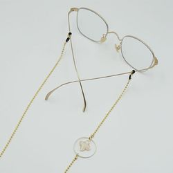 Lucky clover glasses chain