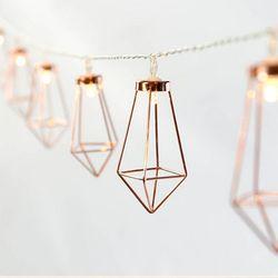 레트로 감성 다이아몬드 LED 조명 가랜드