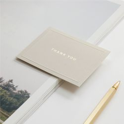 미니 메세지 폴딩 카드 6종