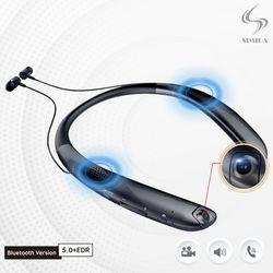 스미다 블루투스 넥밴드 이어폰 블랙박스 카메라 SMD-E100