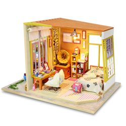 [adico]DIY 미니어처 하우스 - 브라운 하우스