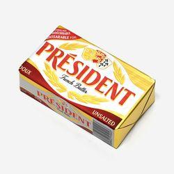 프레지덩 무염 버터 브릭 200g