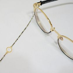 color beads glasses chain