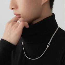 [ARETE] Stapler Clasp Design Necklace