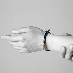 [ARETE] Multi Layered Bracelet Ver.Polishing Gold