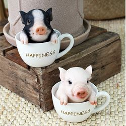 뉴 컵속의 돼지 2color