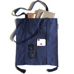 navy tessle bag