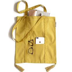 mustard tessle bag