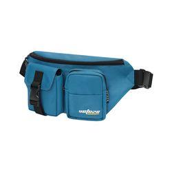 True Up Waist Bag (steel blue)