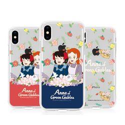 [T]빨강머리 앤 플라워가든 젤리 케이스.아이폰5S(SE)
